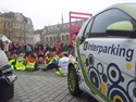 The MNM traffic quiz in Kortrijk